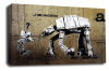 Banksy canvas wall art star wars I am your father