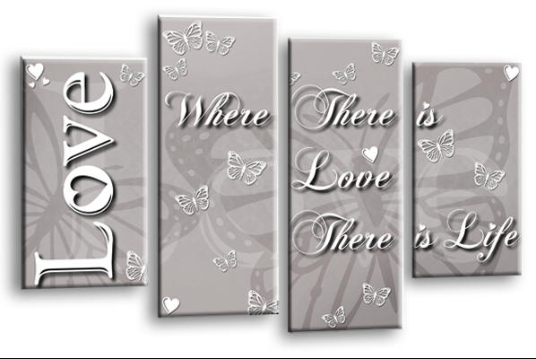 Love Quotes Canvas Wall Art Picture Prints Collections Delectable Canvas Love Quotes